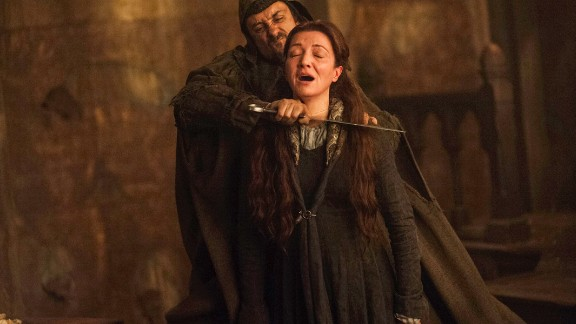 """""""Game of Thrones"""": The blood flows freely on this popular series, especially during the shocking """"Red Wedding"""" scene."""