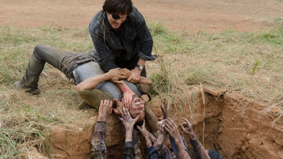 """""""The Walking Dead"""": It probably should not come as a surprise that the most popular scripted series on TV is also among the most violent."""