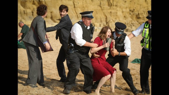 """""""Broadchurch"""": Critics liked this British series, about a child murder, more than most other recent crime shows."""