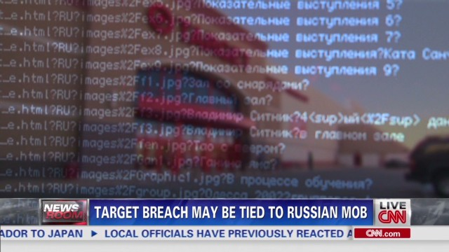Target breach may be tied to Russian mob