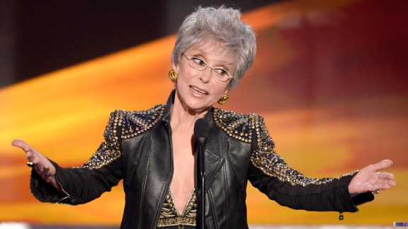 On January 16 at the 2014 SAG Awards, Rita Moreno was presented with the coveted life achievement award.