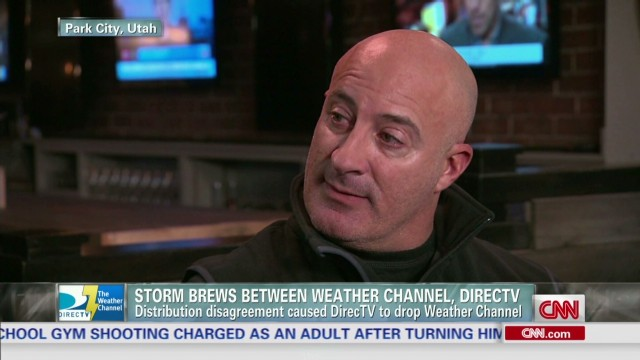Weather Channel, DirecTV in stormy spat