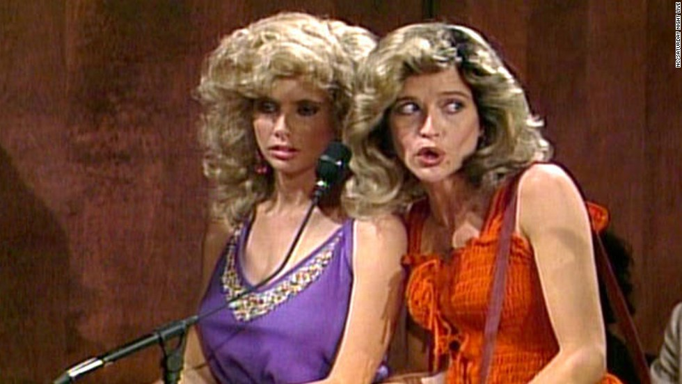 "Her official time on the show was from 1986 to 1991, but Jan Hooks, right, continued to appear on the show occasionally until 1994. She later had roles on ""Designing Women"" and ""30 Rock."" She died on October 9 at  57 years old."