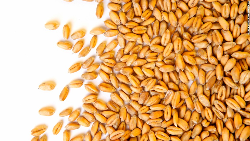 "<strong>Wheat berries</strong><br /><br />Move over, quinoa. Wheat berries, which are whole-wheat kernels, contain one of the highest amounts of protein and fiber per serving of any grain -- 6 grams of protein and 6 grams of fiber. ""Protein triggers the hormone ghrelin to tell our brain that we are satisfied,"" Roberts explains, ""and fiber activates appetite-suppressing gut hormones.""<br /><br /><strong>Feel even fuller:</strong> Do what celeb chef Ellie Krieger does: Toss wheat berries with apples, nuts and other diet-friendly foods to make a super tasty salad.<br /><br /><a href=""http://www.health.com/health/gallery/0,,20486997,00.html"" target=""_blank"">Health.com: How berries prevent aging</a>"