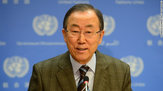 UN Secretary-General Ban Ki-moon invites Iran to Syria peace talks on January 19 at headquarters in New York.