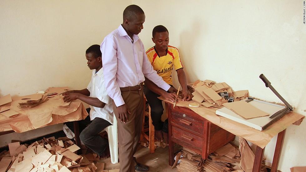 Andrew Mupuya From Teen Entrepreneur To Paper Bag King Cnn