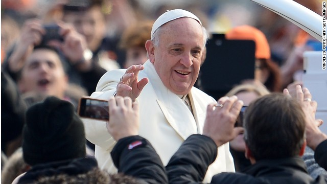 Pope: Money should serve humans, not rule