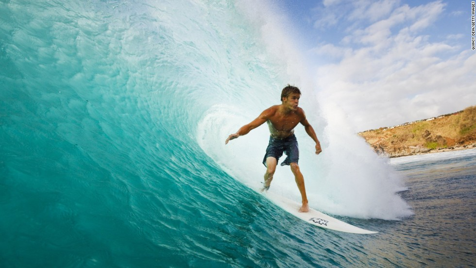 Surfer hawaii