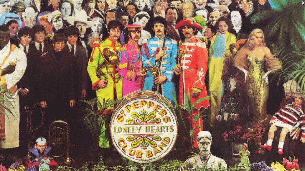 "The Beatles' ""Sgt. Pepper's Lonely Hearts Club Band"" won four Grammys at the 1968 ceremony, including album of the year."