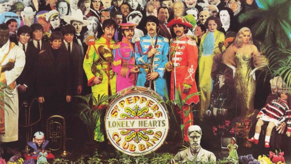 """The Beatles' """"Sgt. Pepper's Lonely Hearts Club Band"""" won four Grammys at the 1968 ceremony, including album of the year."""
