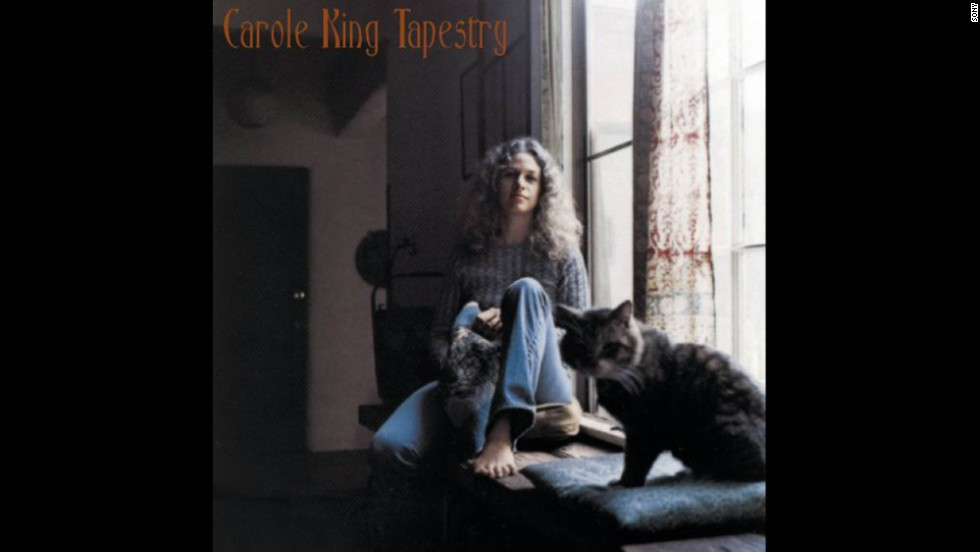 """Tapestry"" by Carole King racked up four Grammys at the 1972 ceremony, including album of the year. Some of the album's songs were covered by other artists, including ""You've Got a Friend"" by James Taylor. The cover photo of a young, relaxed King lounging in a window seat cemented her reputation as a warm, homey singer-songwriter."