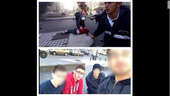 One minute Mohammad Chaar was posing for a selfie. Moments later he was bleeding on the pavement after a car bomb detonated.