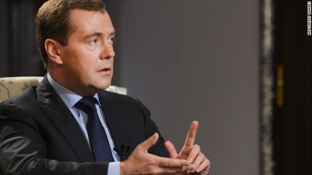 2014: Amanpour speaks with Medvedev about rule of law