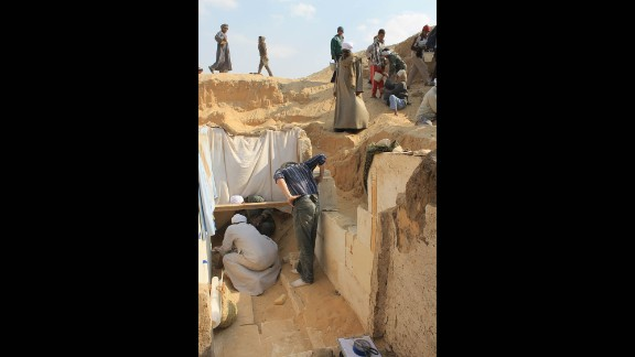 Researchers suspect there will be much more evidence to uncover at the sprawling site buried under the hot Egyptian sand.