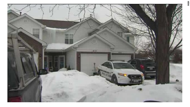 The fatal stabbing occured in the small Chicago-area community of Mundelein, Illinois.