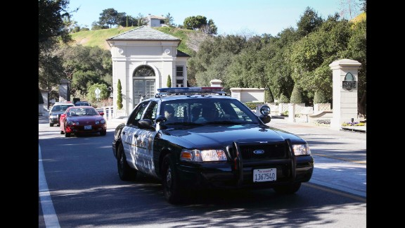 """On January 14, 2014, authorities swarmed Bieber's mansion in Calabasas, California, in connection with an investigation into a report of an egg-throwing incident at a neighbor's house. As part of <a href=""""http://www.cnn.com/2014/07/09/showbiz/justin-bieber-vandalism/index.html"""">a plea deal,</a> Bieber was sentenced to two years' probation. He was also ordered to complete 12 weekly anger management sessions, work five days of community labor and pay $80,900 in restitution to his former neighbor."""