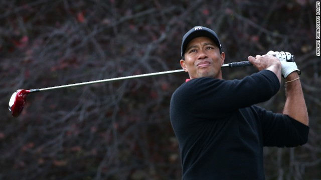 Golf's world No. 1 Tiger Woods begins his 2014 PGA Tour season in California on Thursday.