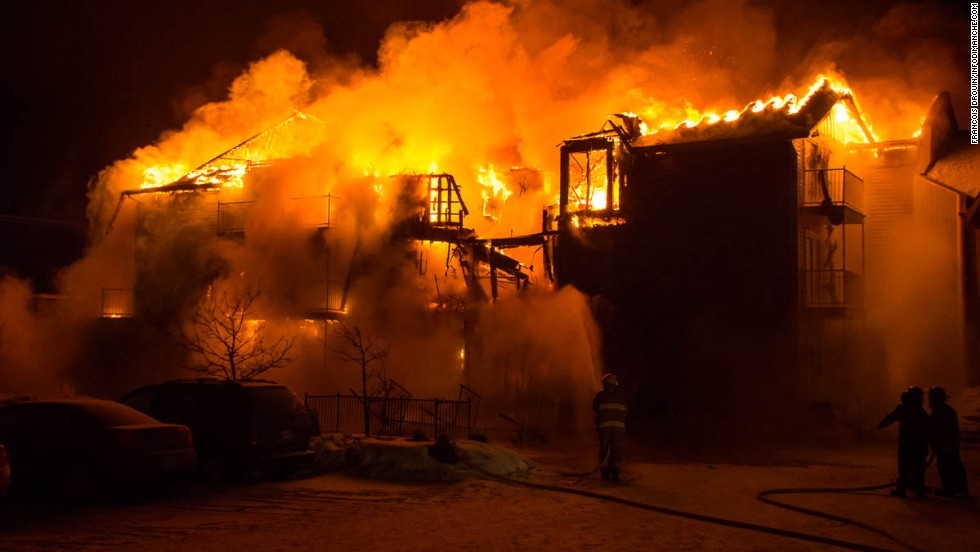 A fire swept through a seniors home in L'Isle-Verte, Quebec, early Thursday, January 23, killing more than a dozen people, police said.