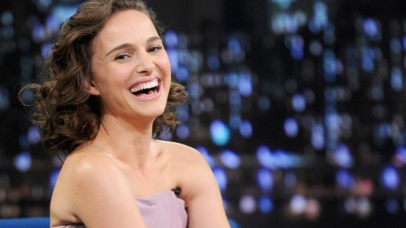 """Actress Natalie Portman, who was born Neta-Lee Hershlag in Jerusalem, was raised in a Jewish household in Long Island, New York. Now she jokes that """"like, every Jewish role comes to me."""""""