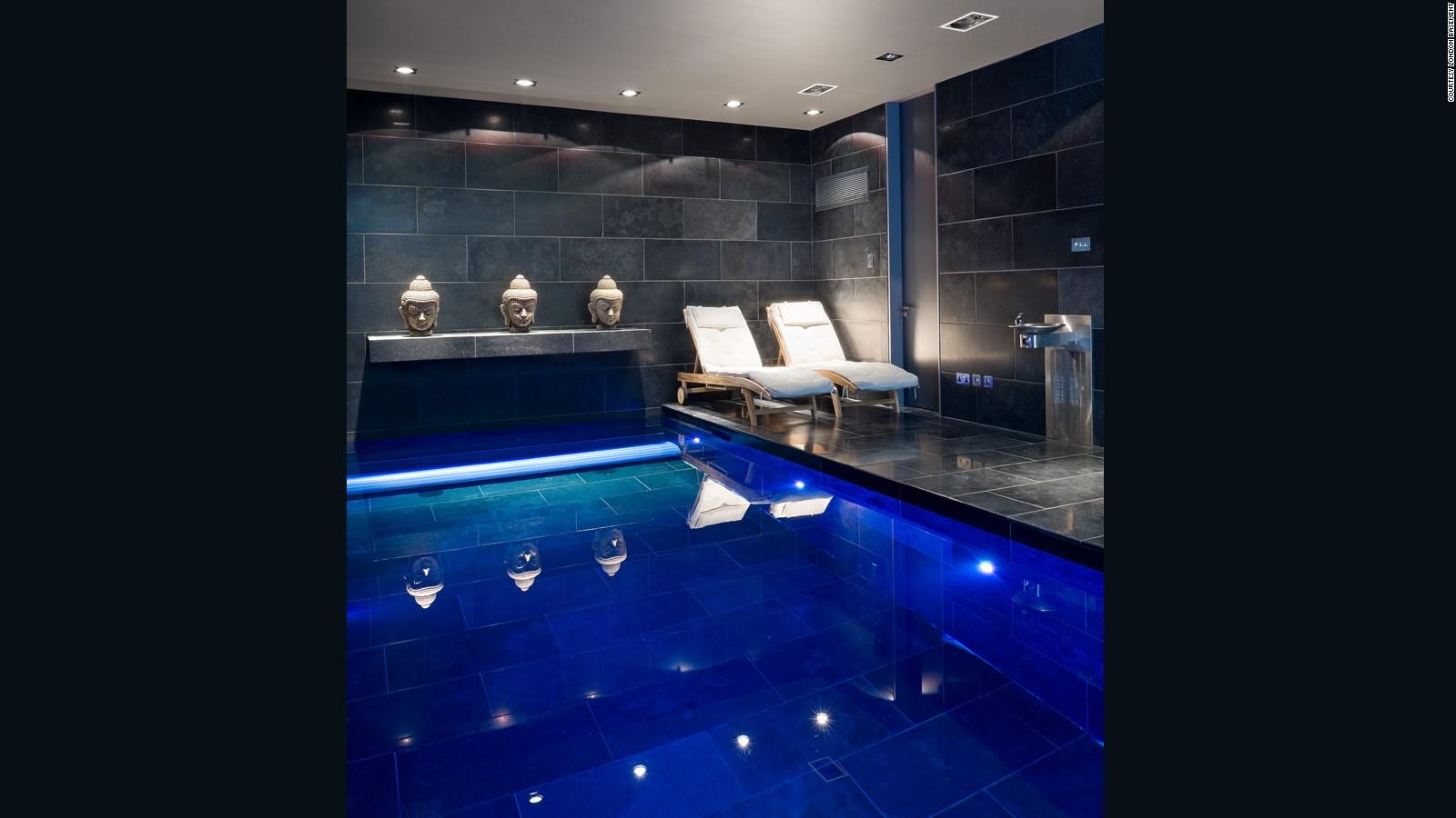 Swimming Pool In The Basement Home Desain 2018