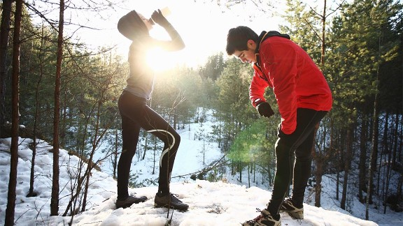 Extra warm-up time in cold weather can help prevent muscle soreness, experts say.