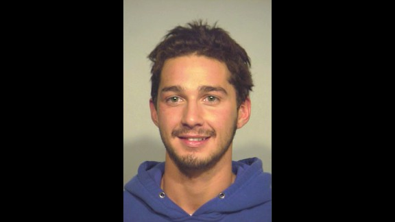 In November 2007, LaBeouf earned that other Hollywood rite of passage: his very first mugshot. The then-21-year-old actor was arrested for trespassing in a Chicago drugstore. According to People magazine, a security guard at the store repeatedly asked LaBeouf to leave because he appeared intoxicated, and when the actor refused, the security guard called the cops.