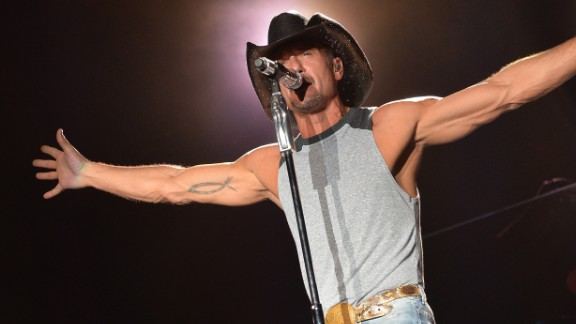Country star Tim McGraw said in an interview in 2013 that he replaced drinking whiskey with working out to clean his life up.