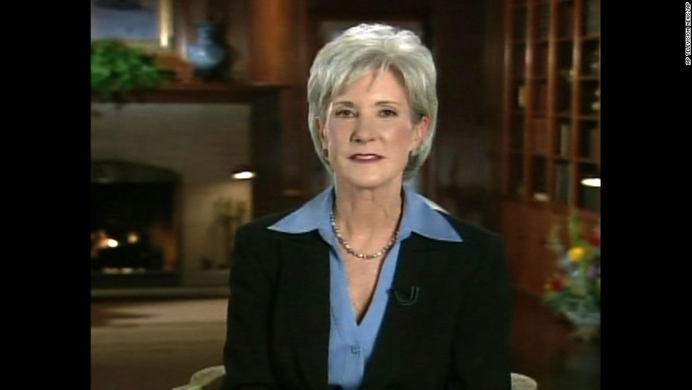 <strong>2008: Health Secretary Kathleen Sebelius --</strong> She was only the second woman to serve as governor of her state when she delivered her party's response to President George W. Bush's State of the Union address. A botched Obamacare rollout has tarnished her brand somewhat.