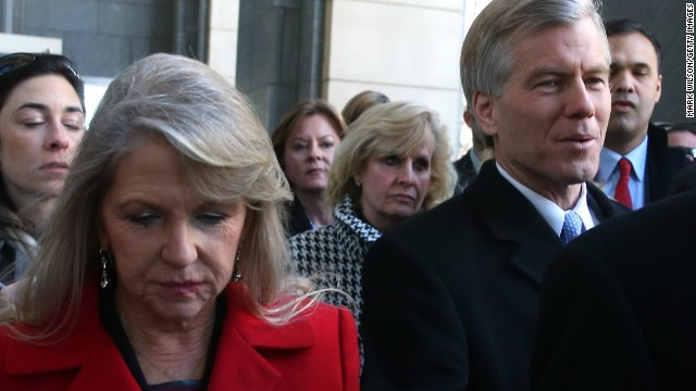 Fmr. Gov. Bob McDonnell, wife found guilty
