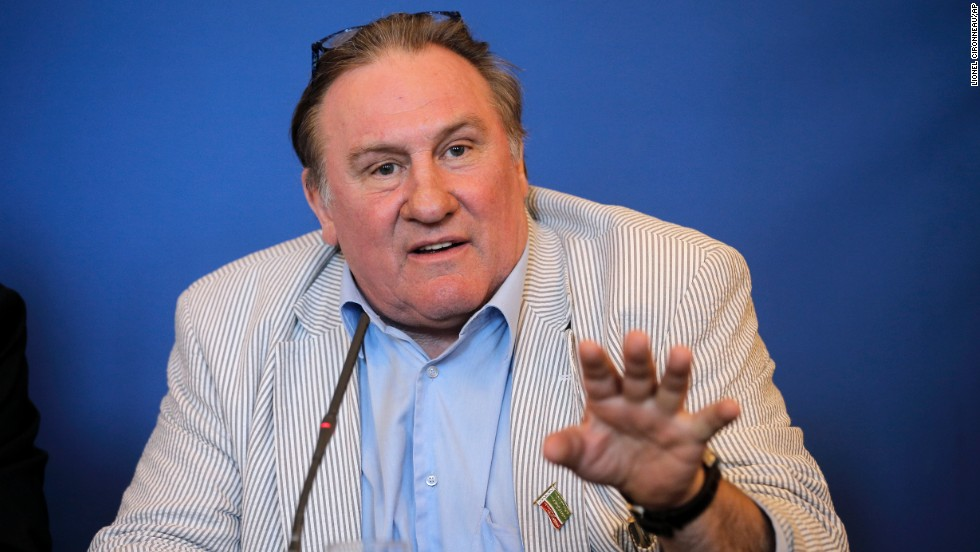 Gerard Depardieu, allegedly while drunk, urinated in the aisle during an Air France flight from Paris to Dublin, Ireland.