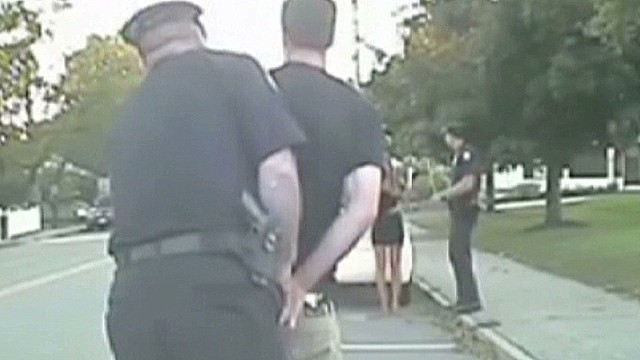 'Arresting' proposal caught on tape
