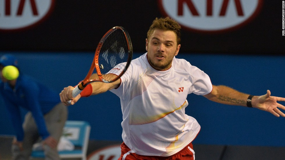 Nadal's improving form rattled Wawrinka who despite rallying in the third still lost it 6-3.