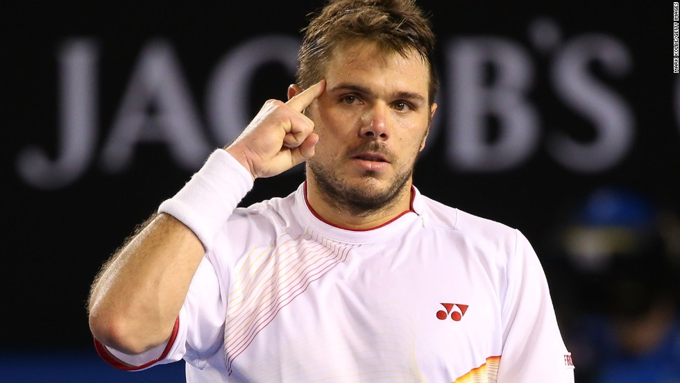 A tight opening to the fourth suggested Nadal might pull off an incredible fightback, but Wawrinka steadied his head and held his nerve. After breaking Nadal in the eighth game he was suddenly serving for the championship.