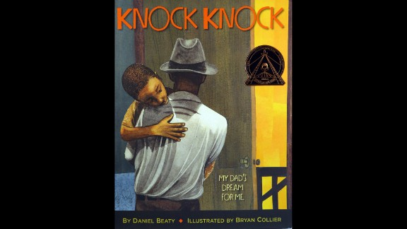 """""""Knock Knock: My Dad's Dream for Me,"""" illustrated by Bryan Collier, is the Coretta Scott King illustrator award winner."""
