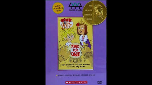 """Paul R. Gagne and Melissa Reilly Ellard, producers of """"Bink & Gollie: Two for One,"""" are the Carnegie Medal winners."""