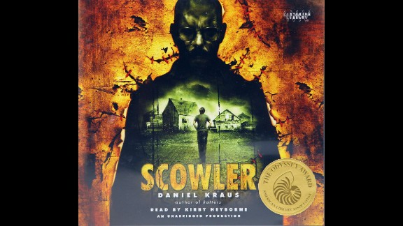 """""""Scowler,"""" produced by Listening Library, is the 2014 Odyssey Award winner for audiobooks."""