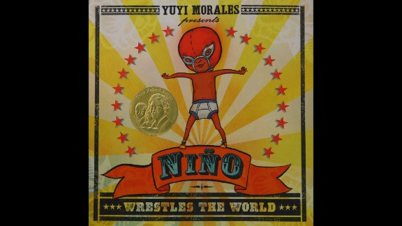 """""""Niño Wrestles the World,"""" illustrated and written by Yuyi Morales, is the Pura Belpré illustrator award winner."""