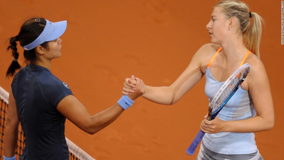 Li shares agents with Maria Sharapova, who has been top of Forbes' sporting women's rich list since 2005.
