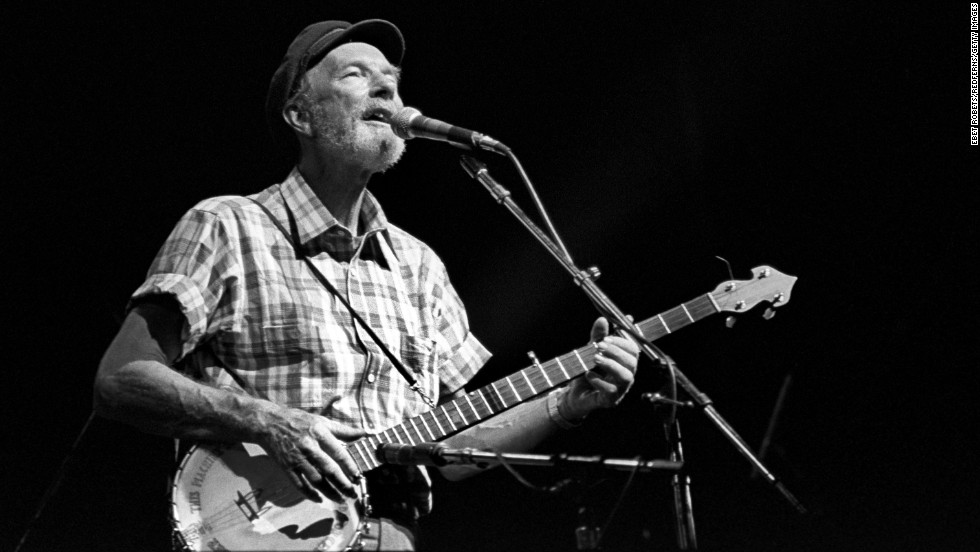 "Legendary folk singer <a href=""http://www.cnn.com/2014/01/28/showbiz/pete-seeger-death/index.html"" target=""_blank"">Pete Seeger</a>, known for classics such as  ""Where Have All the Flowers Gone"" and ""If I Had a Hammer (The Hammer Song),"" died of natural causes in New York on January 27, his grandson told CNN. He was 94."