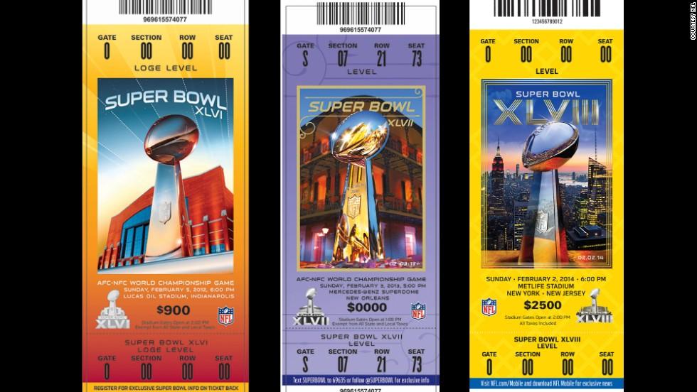 super bowl ticket designs cnn
