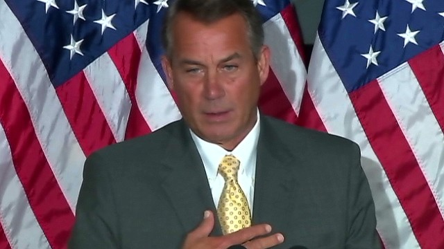 Boehner: Wage increase will hurt people