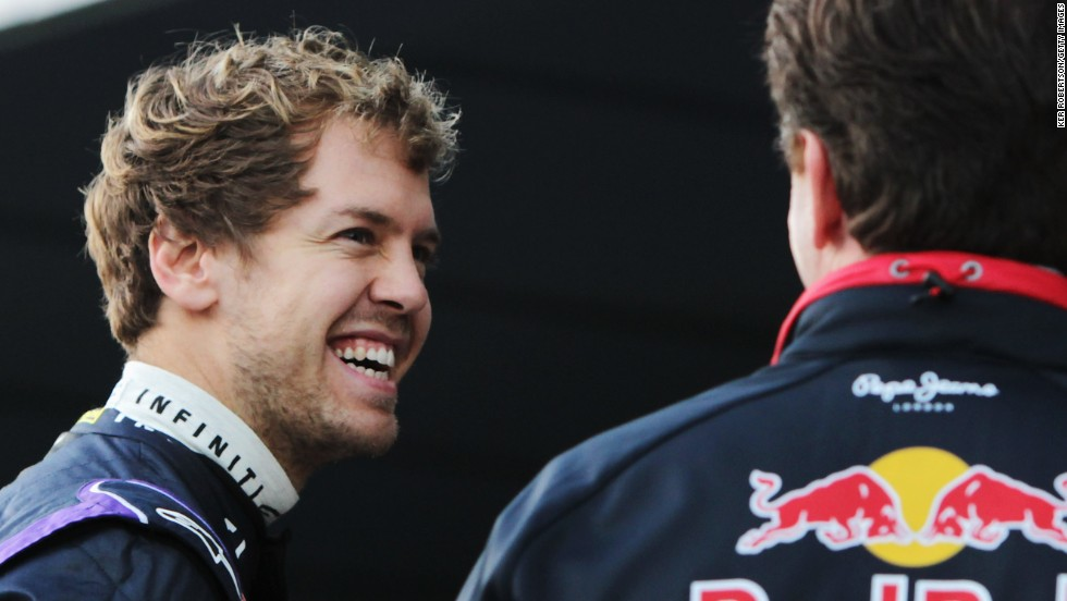 It's back to work for Red Bull's Sebastian Vettel, who is chasing a fifth world title when the F1 season begins in March.