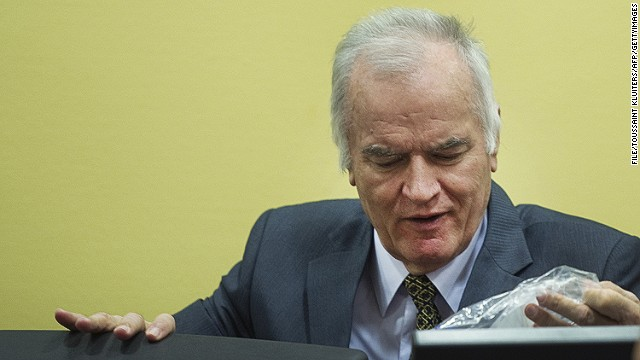 Ratko Mladic has been on trial since 2012, accused of atrocities in the Bosnian war.