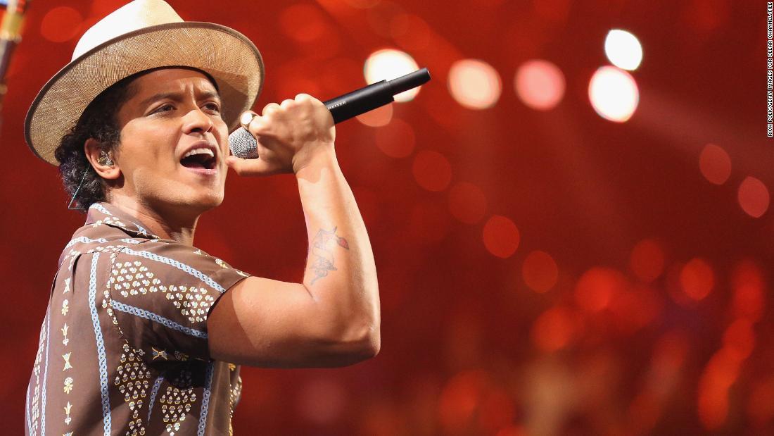 Bruno Mars is having quite the week