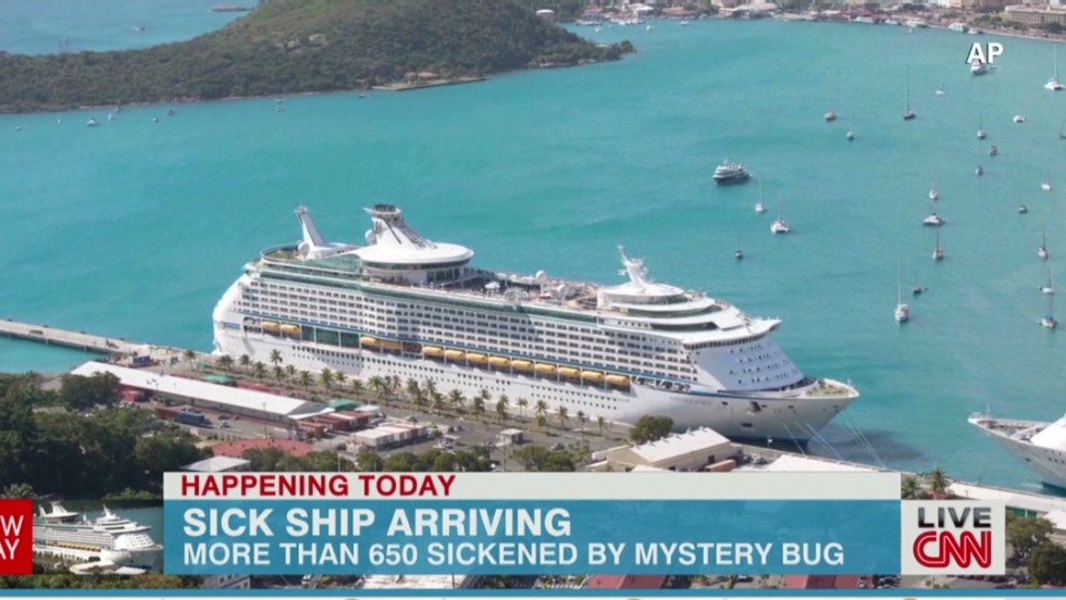 Royal Caribbean Cruise Ship Returns Home With A Sickness Record - Cruise ship caribbean