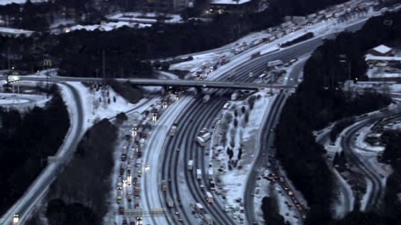 aerials of Atlanta ice and snow road conditions_00002516.jpg