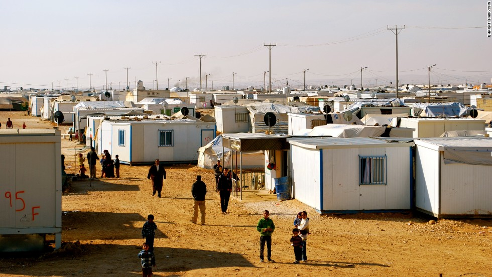 More than 100,000 Syrian refugees currently call Zaatari refugee camp in Jordan home. It is the second largest refugee camp in the world and, if it was a city, would rank among Jordan's largest.