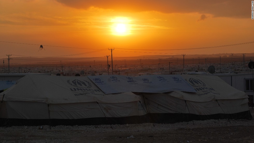 The UNHCR is working to replace all of the tents at Zaatari with prefabricated homes. The goal is to get 80,000 residents into pre-fabricated units by the summer.
