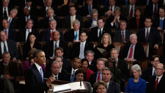 The underlying theme of Obama's fifth State of the Union address was his call for the government to work on behalf of all Americans in 2014, and his pledge to do so even if Congress refused to join him in an election year.