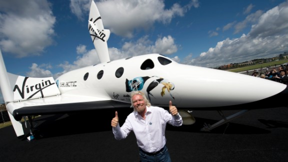 """""""Rome wasn't built in a day,"""" tweeted Virgin Galactic's Richard Branson about delays in his space program."""